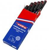 Edding 147s Asetat Kalemi Permanent S Seri 0.3 Mm Kırmızı (10 Lu Kutu)