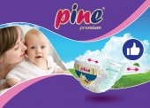 Pine Premium 5+ Junıor plus (13-27 kg) 50  Adet Bebek Bezi-2