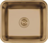 Crauf Ankastre Paslanmaz Çelik Altın Evye 500*450*190 Mm