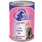 Pati Life Lamb Doğal Kuzu Etli Yetişkin Kedi...