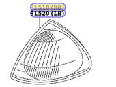 CORONA 97-02/AVENSIS 97-02  SİNYAL SAĞ-2