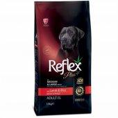 Reflex Plus Adult Lamb Kuzulu Orta Ve Büyük Irk...