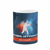 Counter Strike İsme Özel Baskılı Kupa