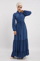 Loreen Kadın İndigo Elbise 22119