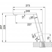 Franke Planario Tower Spiralsiz Krom Armatür-2