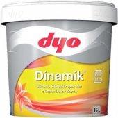 Dyo Dinamik Silikonlu İpek Mat İç Cephe Boyası 15 Lt (Tüm Renkler)