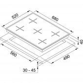 Franke New Glass Linear FHNS 705 4G TC GR C Grey Ocak-2