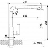 Franke Maris Duşlama özellikli spiralli Oyster Armatür-2