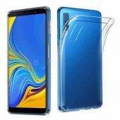 Samsung A7 2018 Şeffaf Silikon Kılıf Ultra İnce...