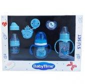 5 Parça Baby Time Biberon Ve Emzik Seti