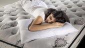 Bellona Whiteline Microfiber Silikon Yastık 50x70 Kampanyalı