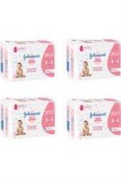 Johnsons Baby Hassas Islak Havlu 72 Li X 12 Paket (864 Yaprak) X4