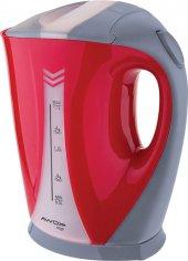 Awox Wego . Vego Elektrikli Çelik Rezistanslı Kırmızı Kettle Ketıl Su Isıtıcı
