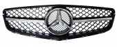Mercedes C Serisi W204 Amg Krom Çıtalı Siyah Panjur 2007 2014