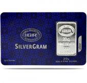 20 gr İAR Gram Külçe Gümüş