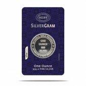 1 ONS 31,10 gr Gram Külçe Gümüş - Yuvarlak
