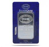 100 Gr Gram Külçe Gümüş