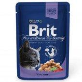 Brit Pouch Cod Fish Balıklı Kedi Konserve 100 Gr 6 Adet