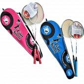 Can Sport Özel Çantalı Çift Badminton Raketi 64...