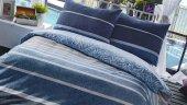 Bellona Stripe Uyku Paketi Tek-Çift Kişilik Nevresim+Yorgan+Yastı-3