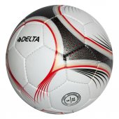 Delta Pro League 5 Numara El Dikişli Futbol Topu (Beyaz Kırmızı)