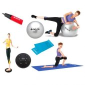 Delta 65 Cm Orta Sert Bant Pilates & Egzersiz Seti Dmpe 650