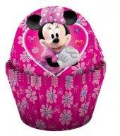 24 Adet Minnie Mouse Kağıt Muffin Cupcake, Kek Kalıbı