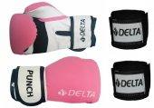 Delta Punch Dura Strong Boks Eldiveni + Boks El Ba...