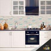 Mutfak Tezgah Arası Folyo Kaplama