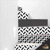 Merdiven Sticker Folyo Kaplama 5 Adet (18cm X 120cm)