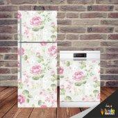 Vintage Buzdolabı Ve Bulaşık Makinesi Kapak...