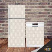 Puantiyeli Buzdolabı Ve Bulaşık Makinesi Kapak...