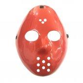 1 Adet Kırmızı Jason Maske, Hannibal Kostüm Partisi Maskesi
