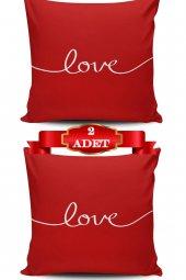 Love&red Kırlent Kılıfı