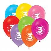 3 Yaş Erkek Doğum Günü Süsleri Paketi-3