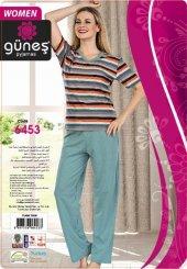 Güneş 6453 Kısa Kol Bayan Pijama Takımı