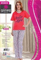 Güneş 6468 Kısa Kol Bayan Pijama Takımı