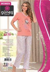 Güneş 6779 Kısa Kol Bayan Pijama Takımı