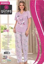 Güneş 6781 Kısa Kol Bayan Pijama Takımı