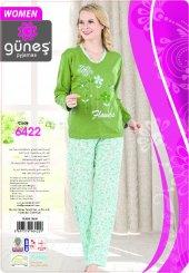 Güneş 6422 Uzun Kol Mevsimlik Bayan Pijama Takım