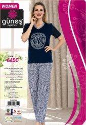 Güneş 6450 Kısa Kol Bayan Pijama Takımı
