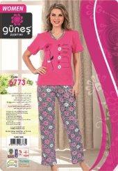 Güneş 6773 Kısa Kol Bayan Pijama Takımı