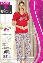 Güneş 6573 Kısa Kol Bayan Pijama Takımı