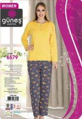 Güneş 6579 Uzun Kol Modal Bayan Pijama Takımı