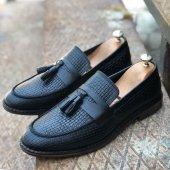 Hakiki Deri Uzi 81013 Erkek Günlük Ayakkabı