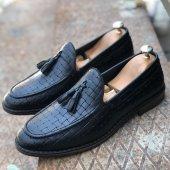 Hakiki Deri Uzi 81014 Erkek Günlük Ayakkabı