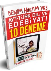 Benim Hocam Yayınları AYT Türk Dili ve Edebiyatı 10 Deneme