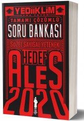 Yediiklim Yayınları 2020 Ales Sözel Sayısal Yetenek Tamamı Çözümlü Soru Bankası