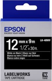 Epson Lc 4bwv9 12mm 9mt Siyah Beyaz Etiket...