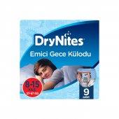 Huggies Drynites Kız Emici Gece Külodu 8 15 Yaş 9 Adet L